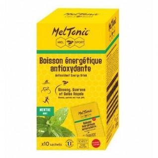 10 Bustine di bevanda energetica antiossidante Meltonic - Menta