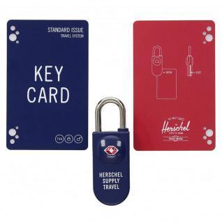 Lucchetto Herschel tsa card lock