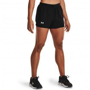 Pantaloncini da donna Under Armour Fly By 2.0 2-in-1