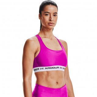 Armour Mid Crossback Sports Bra da donna