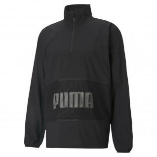 Puma Train Graphic Woven Half Zip Jacket