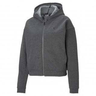 Puma Train Favorite Full Zip Sweatshirt donna