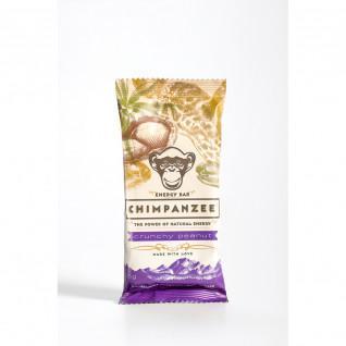 Barretta energetica Chimpanzee vegan (x20) : Cacahuète croquantes 55g