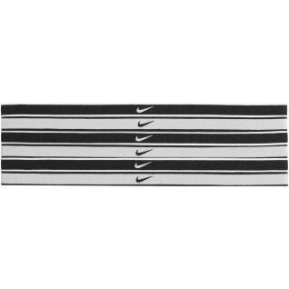 Confezione da 6 fasce per capelli con punta Nike Swoosh