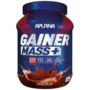 Pot Apurna Gainer Mass Plus - Cioccolato - 1.1 Kg