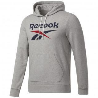 Reebok Identity Big Logo Hoodie con cappuccio