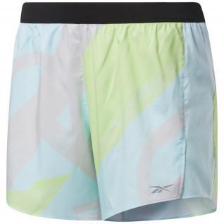 Pantaloncini da donna Reebok Run Essentials Allover Print