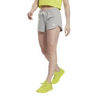 Pantaloncini in pile da donna Reebok Identity