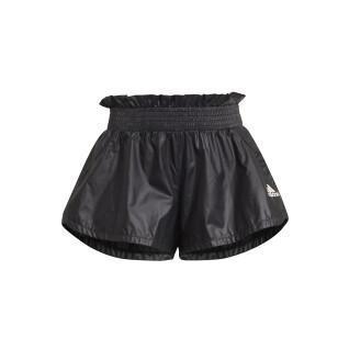 Pantaloncini da ragazza adidas Primegreen Dance Move Comfort Loose Shiny