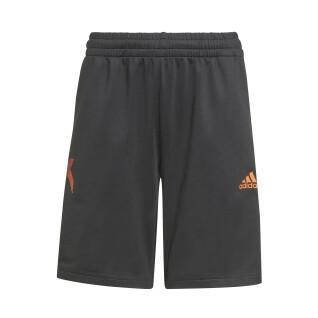 Pantaloncini per bambini adidas AEROREADY X Football-Inspired