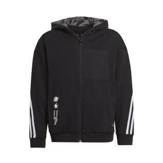 Giacca per bambini adidas ARKD3 Relaxed Graphic Full-Zip