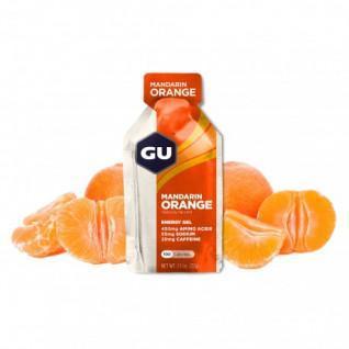 Confezione da 24 gel Gu Energy mandarine/orange