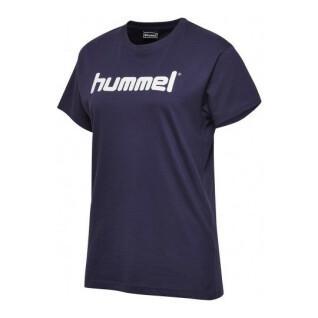 Maglietta da donna Hummel go logo