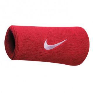 Polsini in spugna con doppio swoosh Nike