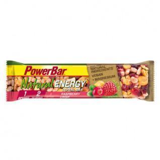 Lotto di 24 barre PowerBar Natural Energy Cereals - Raspberry Crisp
